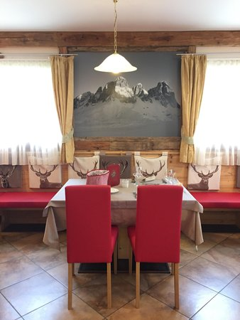 The restaurant Campitello di Fassa Stella Montis