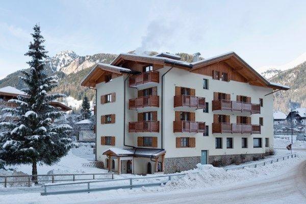 Foto invernale di presentazione Serenella - dependance Hotel Sella Ronda - Hotel 3 stelle