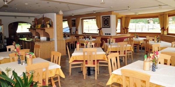 Das Restaurant Fontanazzo (Mazzin) Ciamol