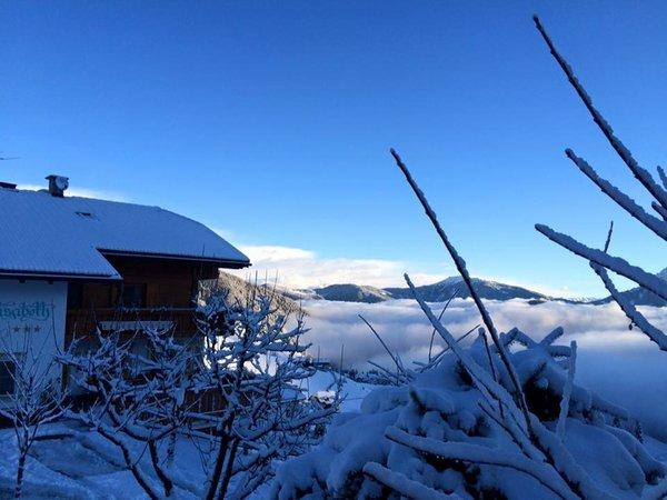 Foto esterno in inverno Elisabeth Panorama