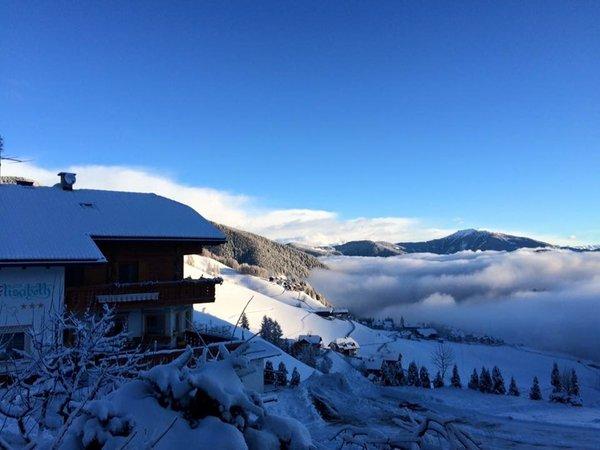 Foto invernale di presentazione Pensione Elisabeth Panorama