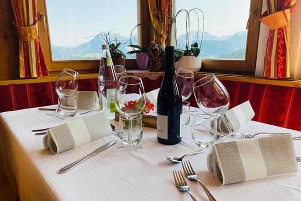 The restaurant Antermoia / Untermoi (San Martino in Badia / St. Martin in Thurn) Panorama Elisabeth