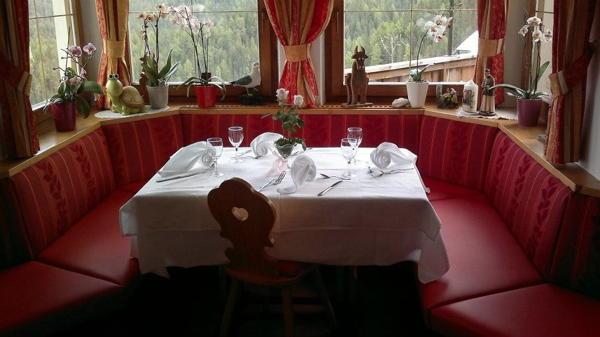 Il ristorante Antermoia (San Martino in Badia) Elisabeth Panorama