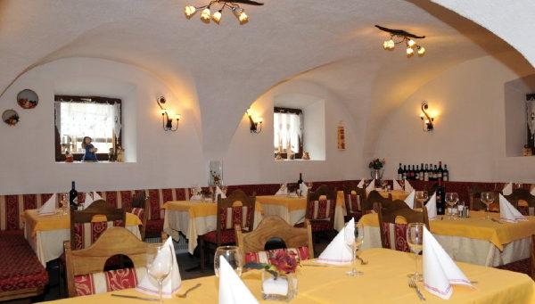 Il ristorante Mazzin Val Udai