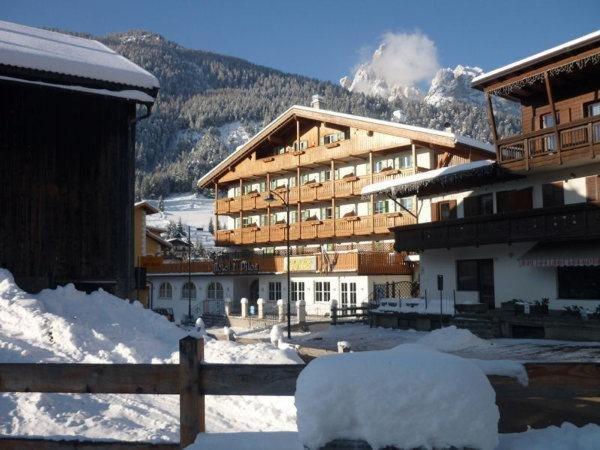 Foto invernale di presentazione Hotel El Pilon