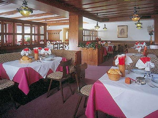 La sala da pranzo Albergo Laurino