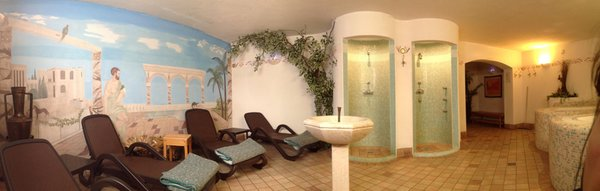 Photo of the wellness area Park Hotel Mater Dei