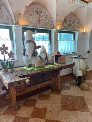 Foto einiger Details  Sport Hotel Majaré