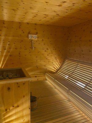 Foto der Sauna Pozza di Fassa