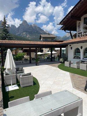 Foto vom Garten Pozza di Fassa
