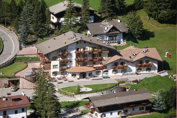 Photo exteriors in summer Alpine Touring Hotel
