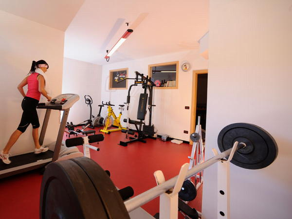 Photo of the fitness area Alpine Touring Hotel