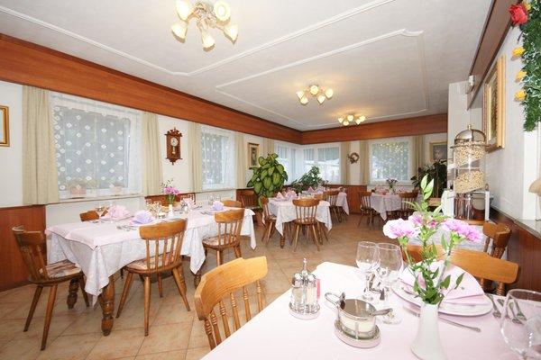 Il ristorante Pozza di Fassa Villa Mozart