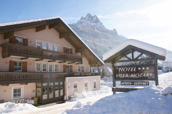 Foto invernale di presentazione Villa Mozart - Hotel 3 stelle