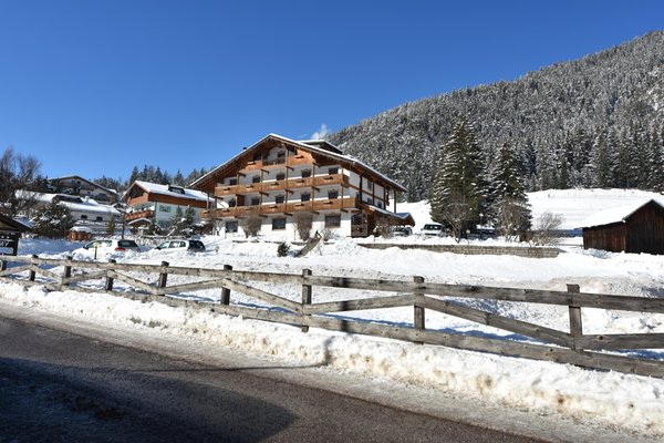 Foto esterno in inverno Villa Gemmy