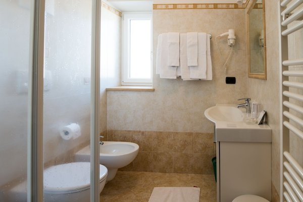 Foto del bagno Hotel Villa Gemmy