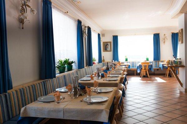 Il ristorante Pozza di Fassa Villa Gemmy