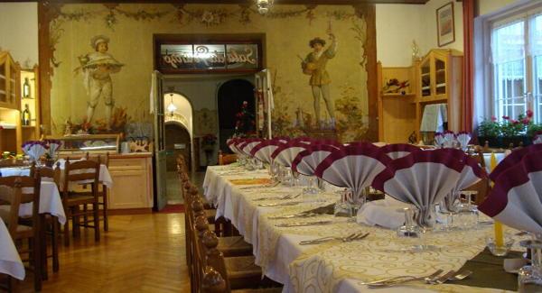 Il ristorante Pera di Fassa Rizzi