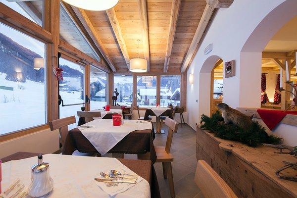 Il ristorante Pozza di Fassa Lastei