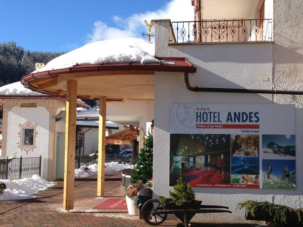 Photo exteriors in winter Andes Hotel Family & Wellness