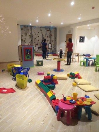 La sala giochi Nature & Wellness Hotel Renato