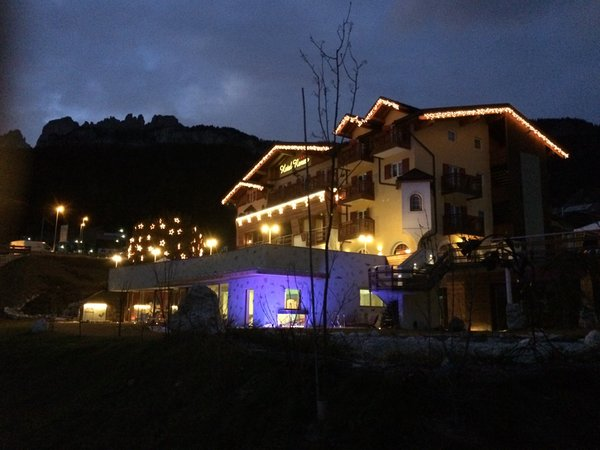 Foto esterno in inverno Nature & Wellness Hotel Renato