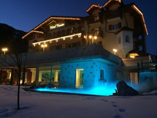 Foto invernale di presentazione Nature & Wellness Hotel Renato