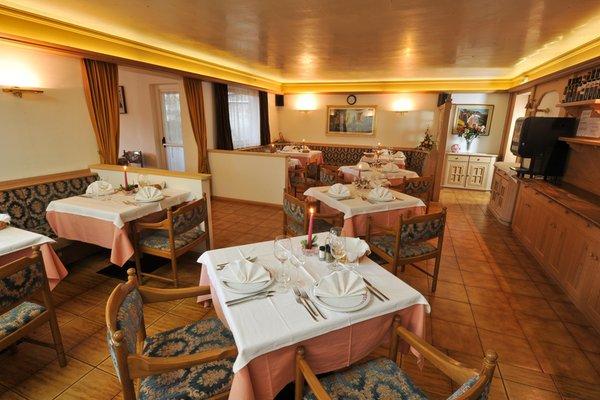 Il ristorante Vigo di Fassa Cristallo