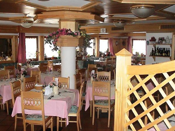 Il ristorante Vigo di Fassa Vael