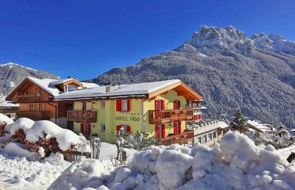 Winter Präsentationsbild Hotel Vigo