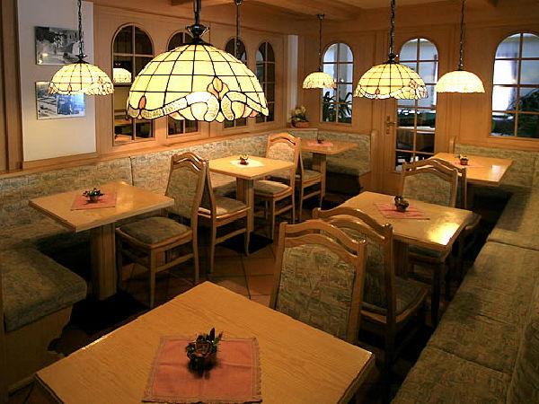 Das Restaurant Vigo di Fassa Vigo