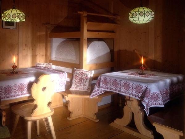 Foto der Stube Hotel Vigo