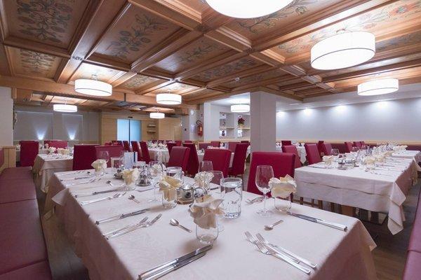 The restaurant Vigo di Fassa Belvedere