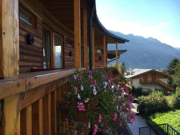 Foto vom Balkon Enrosadira