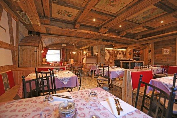 Il ristorante Vigo di Fassa Ladin