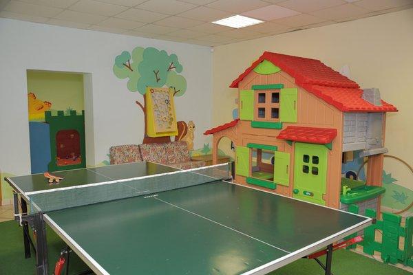 La sala giochi Albergo Malder