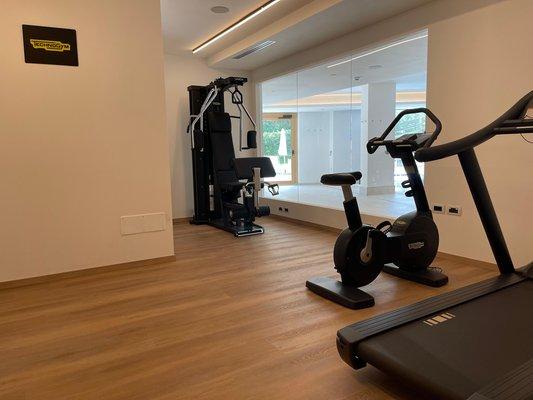 Photo of the fitness area Hotel Miravalle