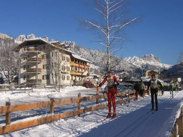 Foto invernale di presentazione Hotel Rosalpina Ski-Trek-Bike Sport Passion