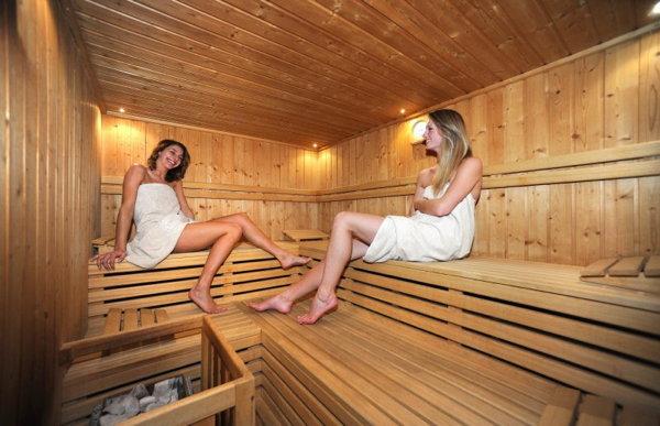 Foto della sauna Soraga