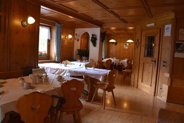 Das Restaurant Corvara Haus Tyrol