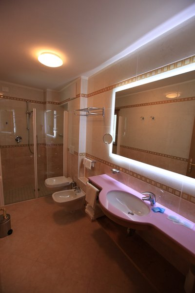 Photo of the bathroom Hotel Fanes