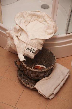Foto del bagno Albergo La Romantica
