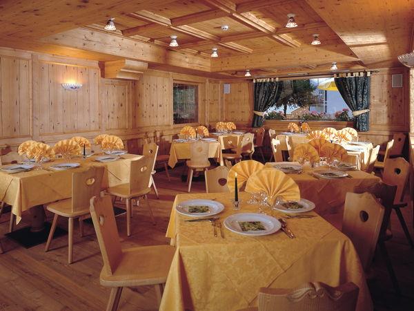 Il ristorante Moena La Romantica