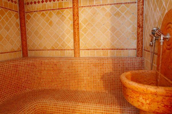Albergo laurino moena val di fassa - Il bagno turco dipinto ...