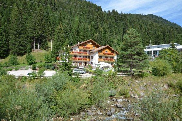 La posizione Hotel Malga Passerella Moena