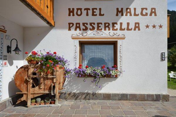Foto esterno in estate Malga Passerella