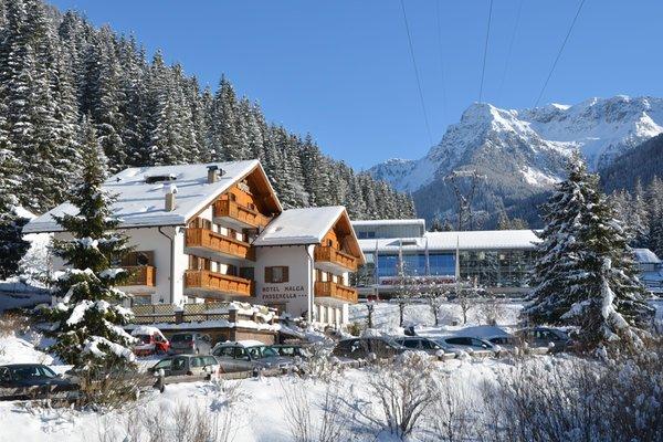 Foto invernale di presentazione Malga Passerella - Hotel 3 stelle
