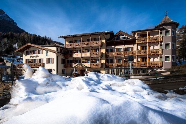 Foto invernale di presentazione Albergo Patrizia