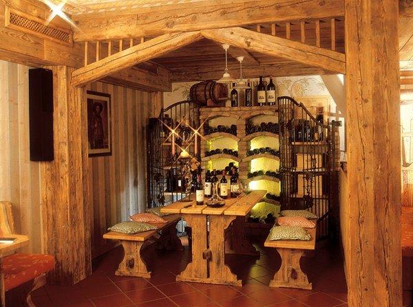La cantina dei vini Moena Patrizia