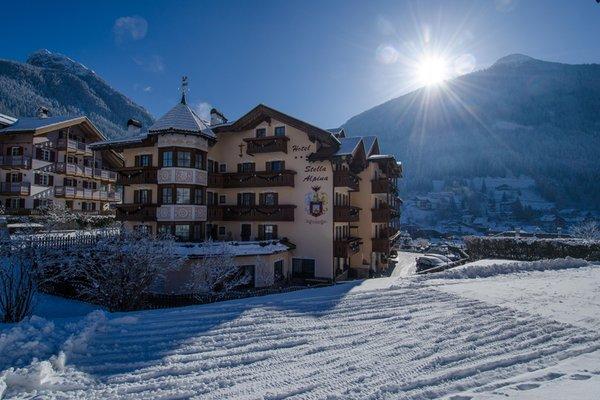 Foto invernale di presentazione Albergo Stella Alpina